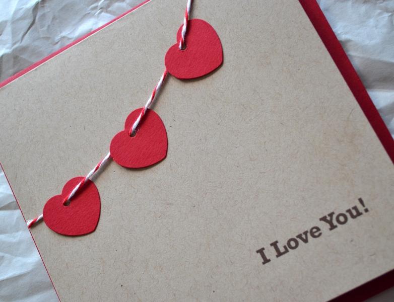 Сделать валентинки для любимых своими руками