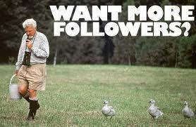 Dapatkan seramai mungkin followers