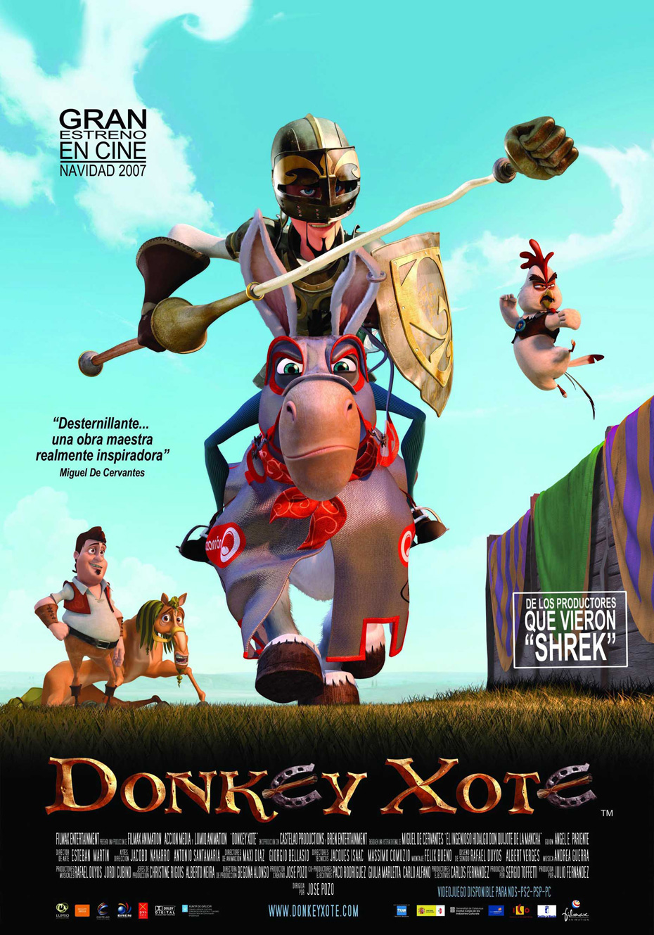 Donkey Xote movie