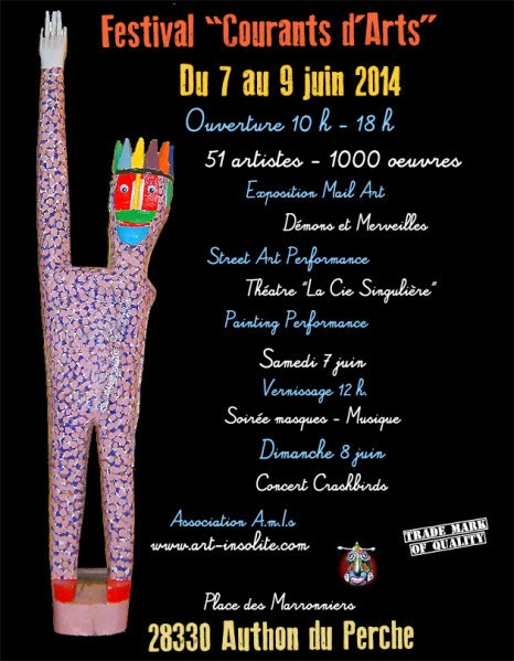 courants d art festival singulier brut 2014 - outsider art magazine