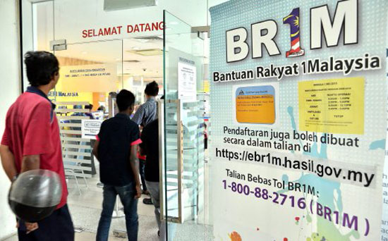 Bajet 2016 - Penerima BR1M Diberikan RM1000