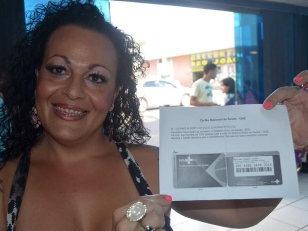 Luciana Stocco obteve o documento em Piracicaba, mas fez reclamações (Foto: Thomaz Fernandes)