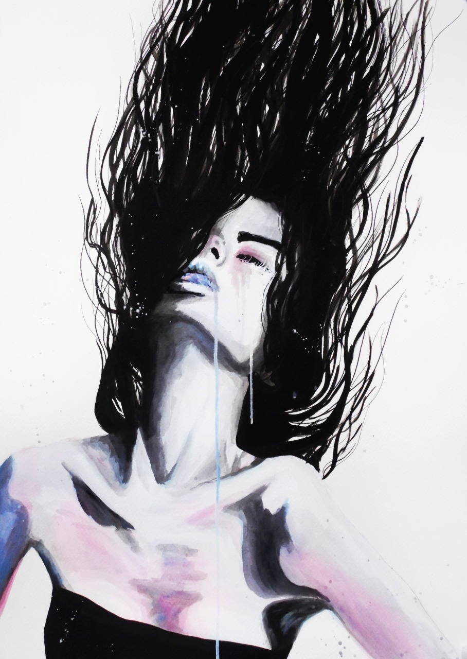 12-Andrea-Wéber-aka-Mandy-Candy-Paintings-A-Mirror-to-the-Artist-s-Emotions-www-designstack-co