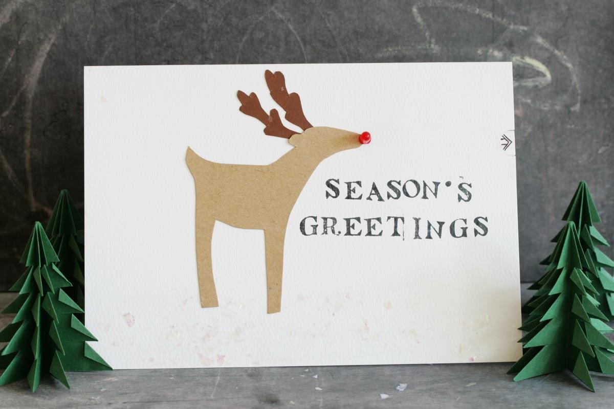 Led Reindeer Greeting Card Hideous Dreadful Stinky