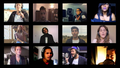 Imagine – Jonh Lennon por 12 cantores Portugueses (video)