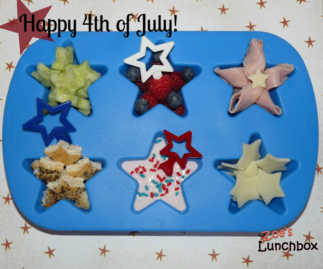4th of July Muffin Tin