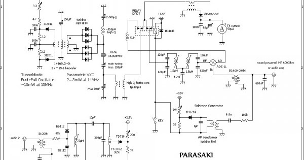Para Saki The Qrp Transceiver Fact Diodes Wiring Diagram Schematic    Diagram Guide