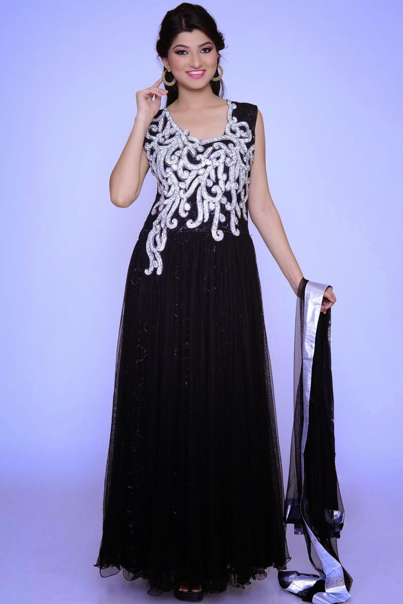 albarino net maxi dresses collection 2014