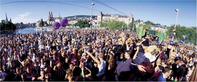 Street Parade en Zurich