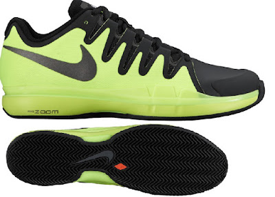 Tenisová obuv Nike R. Federer Zoom Vapor 9.5 Tour clay žluto-černá