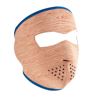 Woody Neoprene Face Mask