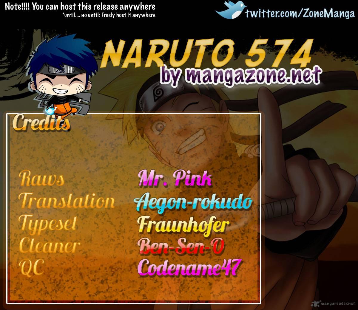 Naruto - Chapter 574 - Pic 19