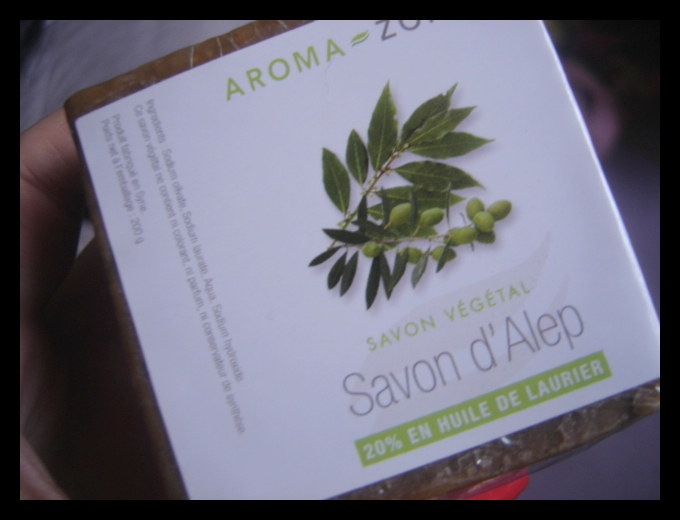 savon d'alep 40 laurier aroma zone