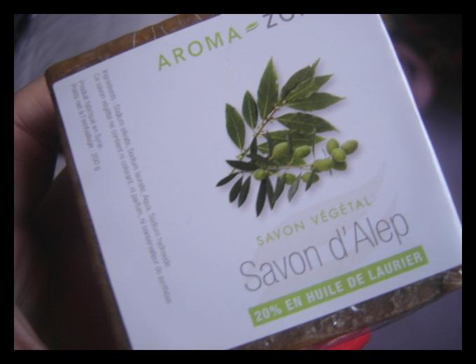 savon d'alep 40 aroma zone