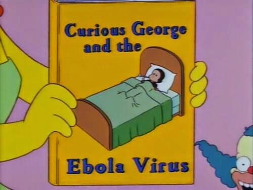 THE SIMPSONS PREDICT EBOLA VIRUS