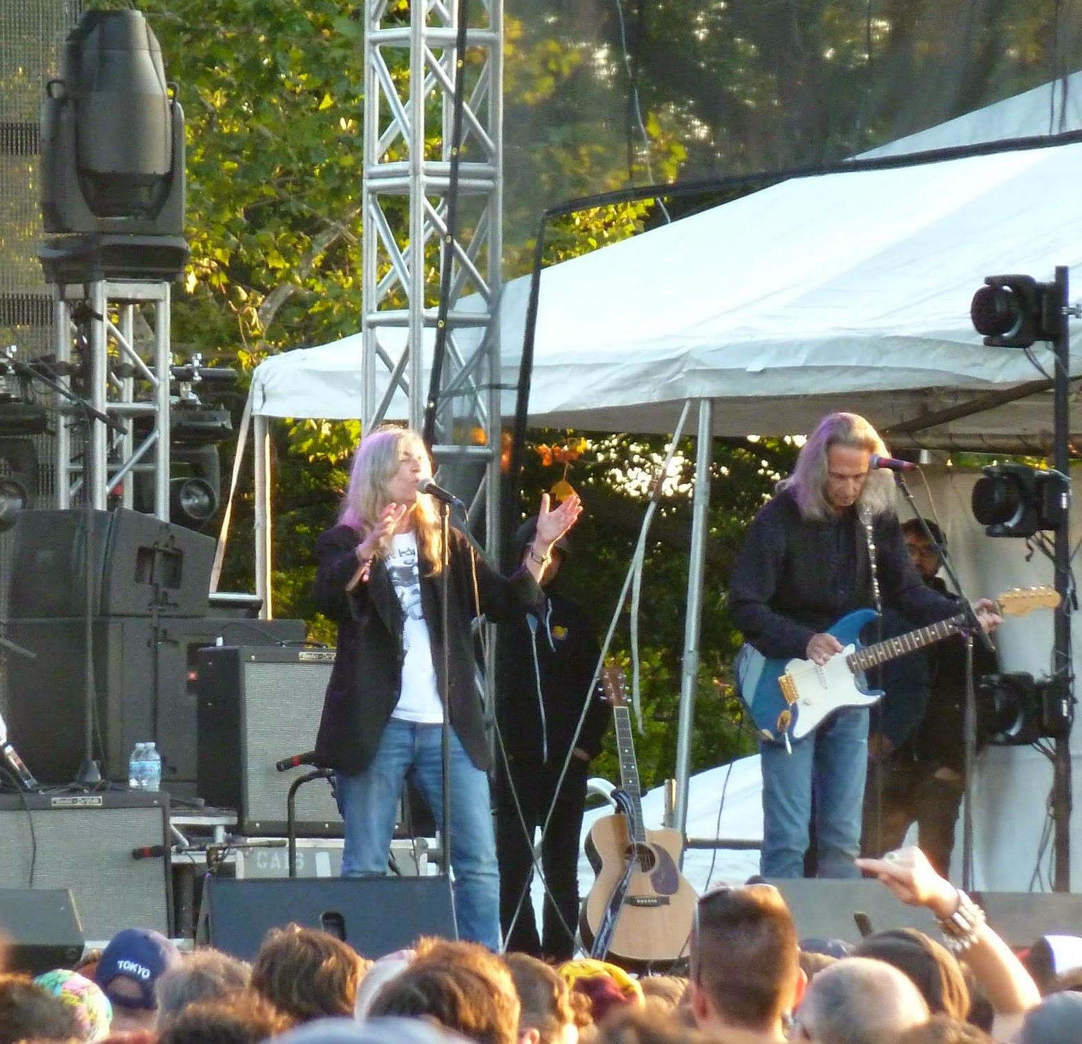 Patti Smith at Riot Fest