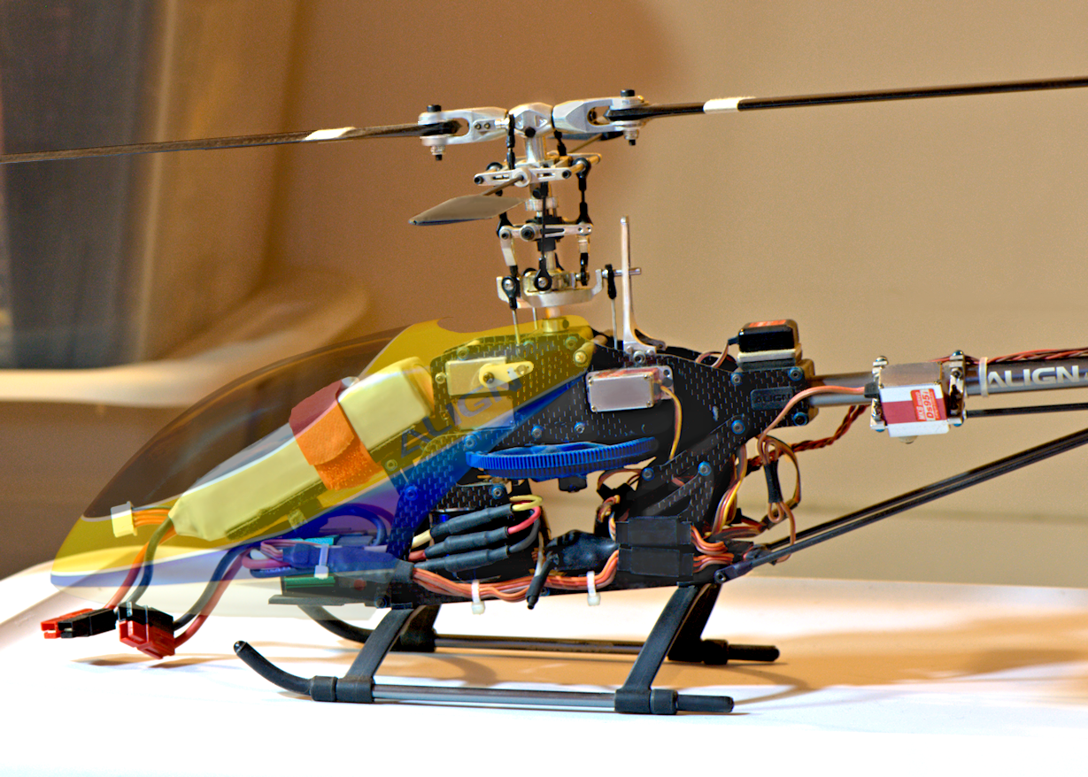 ALIGN Trex 450 (customized) RC Helicopter