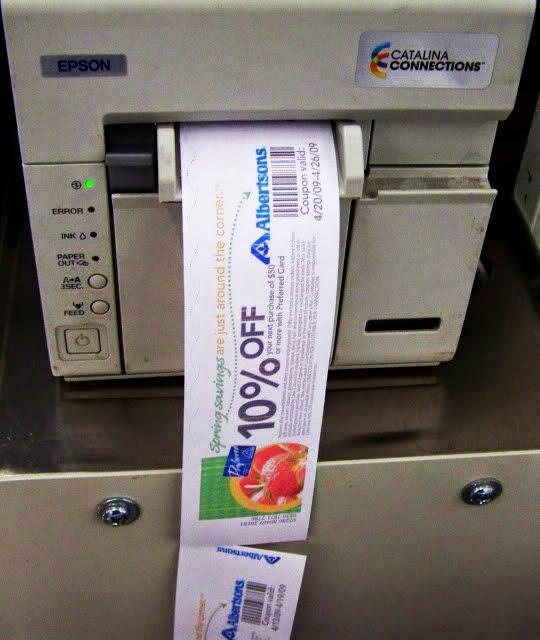 smartsource coupon machine