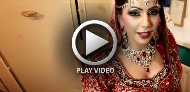 Bridal Eye Makeup With Red Lehenga : Pakistani Bridal Makeup For Red - Maroon Lehengas - B and G ...