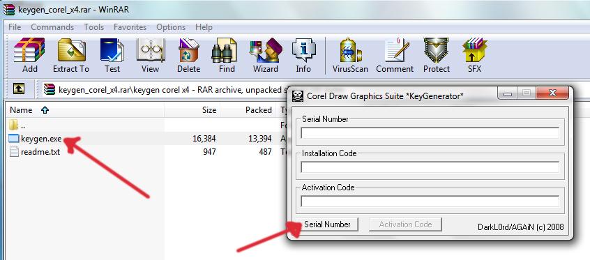 corel paint shop pro x4 activation code.rar
