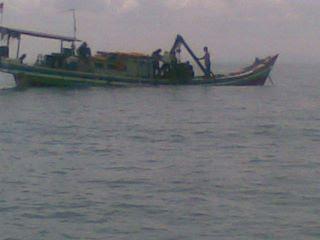 rumpon kapal tenggelam