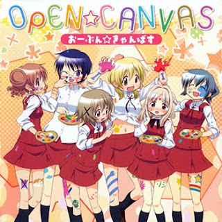 Hidamari Sketch x Honeycomb OP Single - Open Canvas