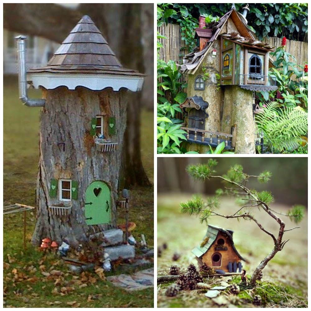 miniaturowe domki dla wróżek