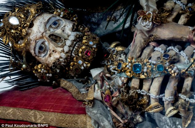 Incredible Skeletal Remains Of Catholic Saints Still Dripping In Gems