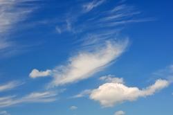 Himmelsblau...