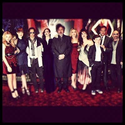 Dark Shadows, movie cast, Tim Burton