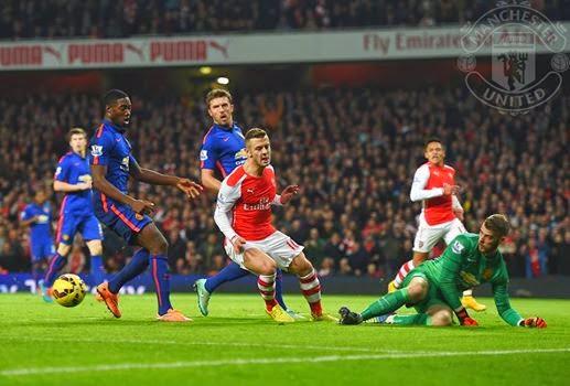 Arsenal Terkapar Di Emirates, 1-2 Kontra MU