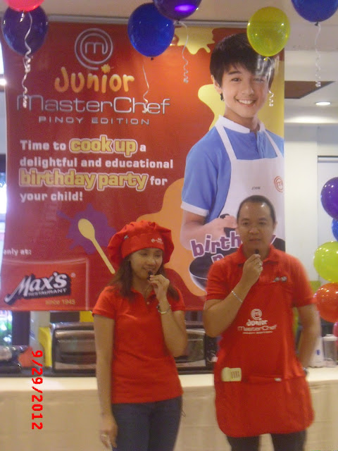 Max&#8217;s Junior Master Chef Theme Party Experience