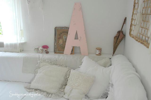 mein Shabby chic Wohnzimmer
