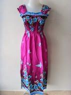 long dress lengan