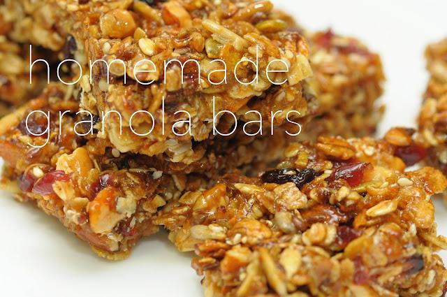 scrappingcrazy : Homemade Granola Bars
