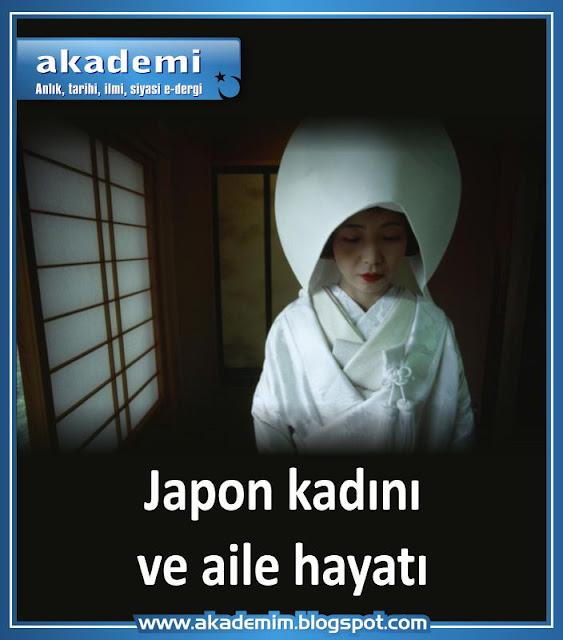Japon kadını ve aile hayatı