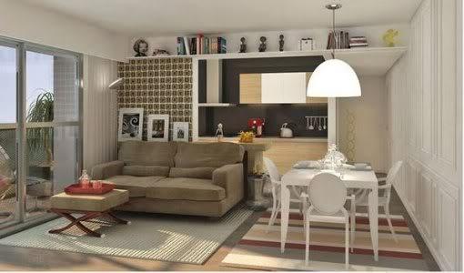 de sala dois ambientes pequena:decoração para sala de dois ambientes