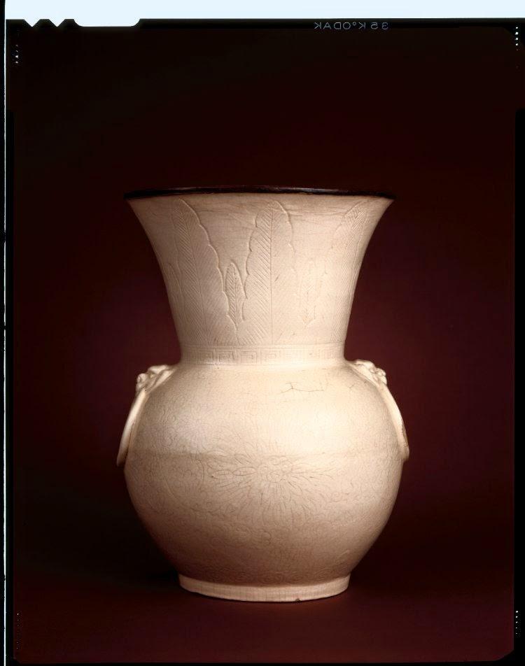 Qing dynasty Zhadow vase