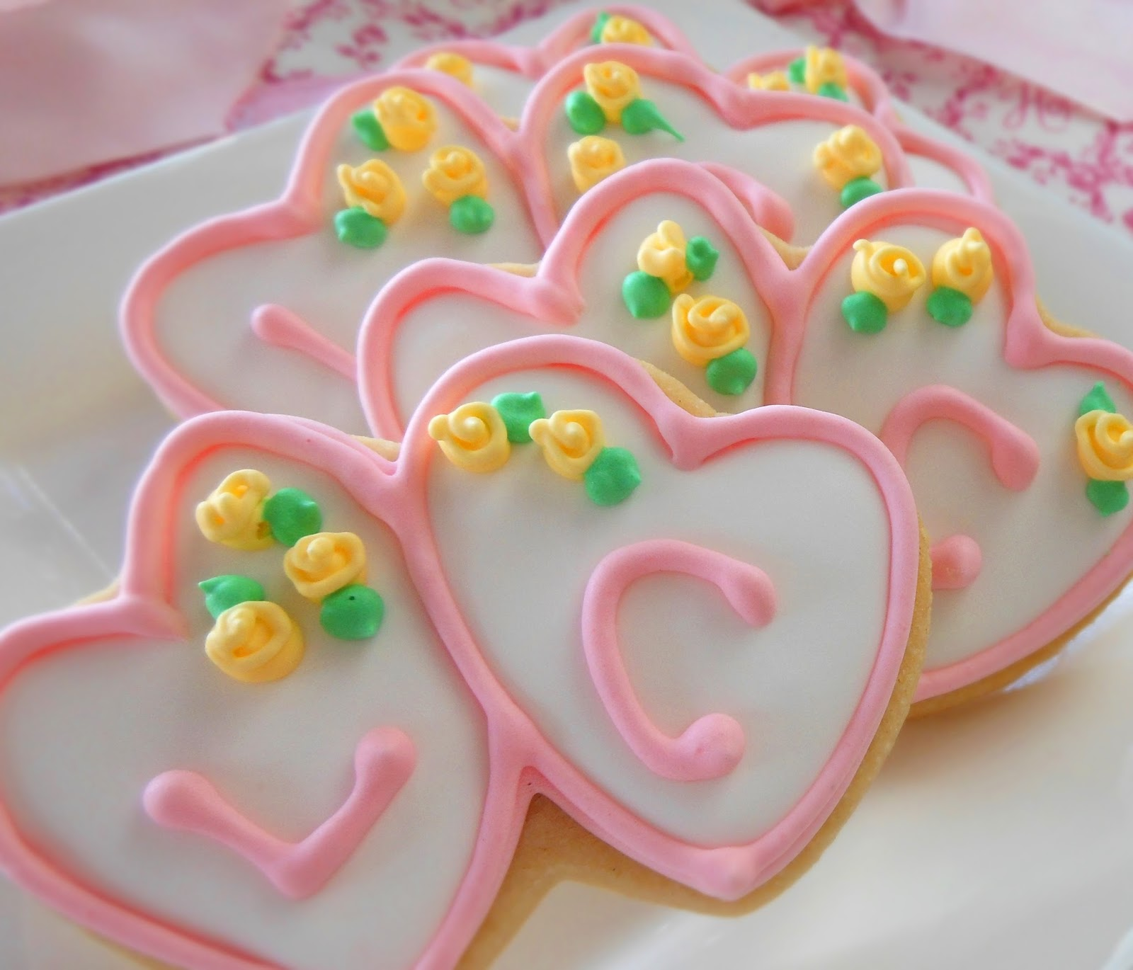 My Cookie Clinic: DOUBLE HEART COOKIES/ Heart-to-Heart