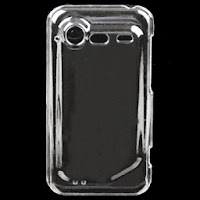 Clear Crystal Case Cover for HTC Incredible S / 2