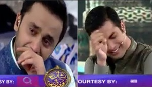 How Badly Waseem Badami and Iqrar ul Hassan Cried when Junaid Jamshed Brother Came in Shan E Ramzan