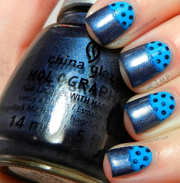 Let them have Polish!: Blue Moons for Autism Awareness with China Glaze