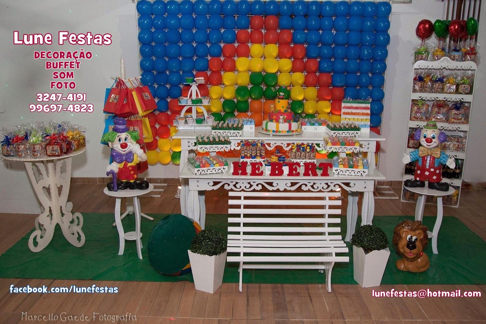 Lune Festas São Gonçalo RJ: O Circo do Lune Festas Decoração  #093F7C 1600x1067