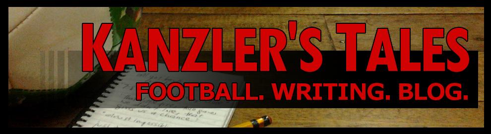 Kanzler's Tales: Football. Writing. Blog.