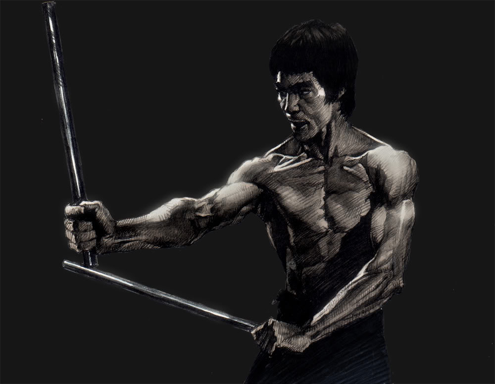 Bruce Lee - El viaje de un Guerrero  DvdRip   Espa  241 ol   RG Bruce Lee Quotes On Practice