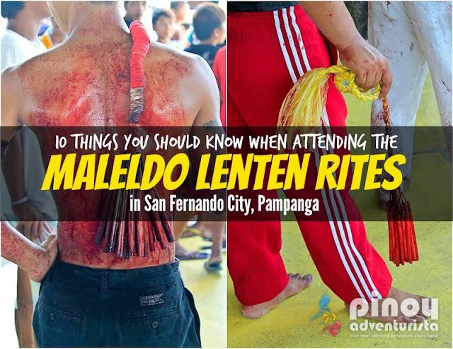 Maleldo Lenten Rites in San Fernando Pampanga