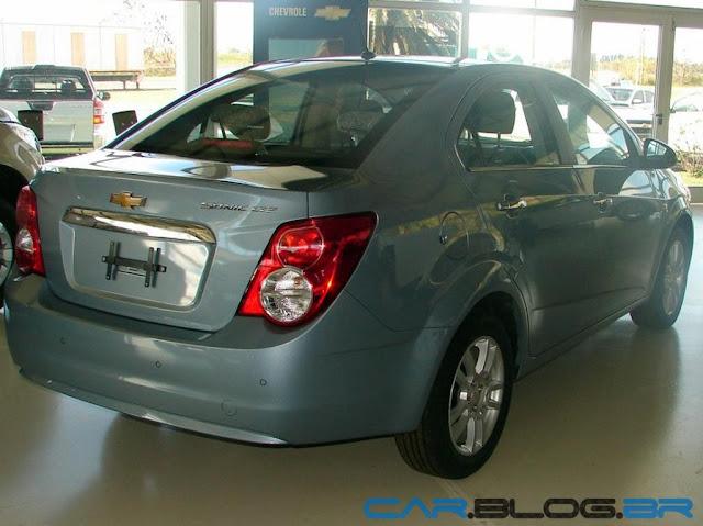 Chevrolet Sonic 2013 sedan