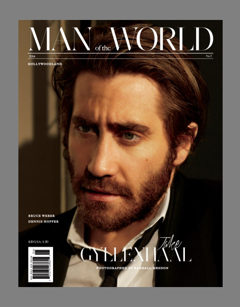 Jake Gyllenhaal covers Man of the World issue 7