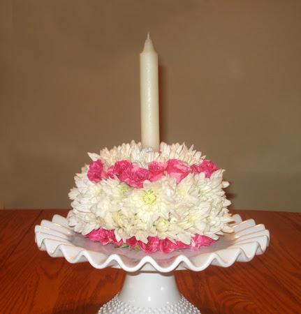 DIY Floral Cake