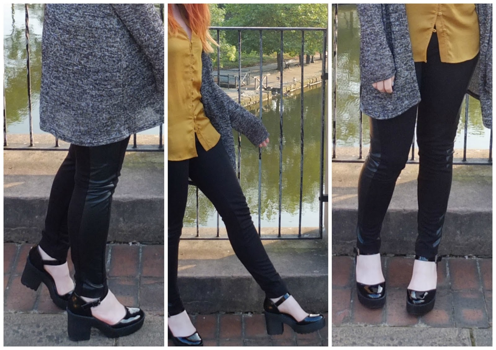primark chunky heel patent shoes with buckle, british fashion blog